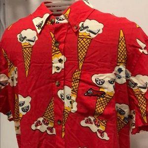 NEW ICE CREAM BILLIONAIRE BOY CLUB shirt button up